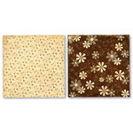 Paper Loft - Grandmas House Collection - 12x12 Doublesided Paper - Hankie, CLEARANCE