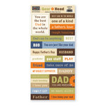 The Paper Loft - Gear Head Collection - Cardstock Pieces - Father