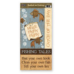 The Paper Loft - Hooked on Fishing Collection - Cardstock Pieces - Here Fishy Fishy