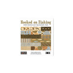 The Paper Loft - Hooked on Fishing Collection - 6 x 6 Patterned Paper Pad