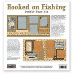 The Paper Loft - Hooked on Fishing Collection - 12 x 12 Double Page Kit - Fish Tremble