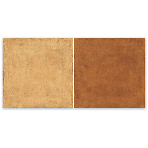The Paper Loft - Huckleberry Pond Collection - 12 x 12 Double Sided Paper - Campfire