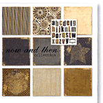 Paper Loft - Now and Then Collection - Cardstock and Die Cut Pack