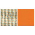 The Paper Loft - On the Go Collection - 12 x 12 Double Sided Paper - Zippy