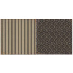 The Paper Loft - Shades of Gray Collection - 12 x 12 Double Sided Paper - Graystone