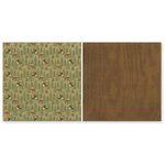 The Paper Loft - The Great Outdoors Collection - 12 x 12 Double Sided Paper - Moose