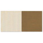 The Paper Loft - The Great Outdoors Collection - 12 x 12 Double Sided Paper - Boot Tracks