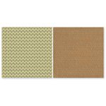 The Paper Loft - The Great Outdoors Collection - 12 x 12 Double Sided Paper - Stacked Logs