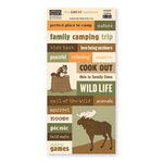 The Paper Loft - The Great Outdoors Collection - Cardstock Pieces - Camping