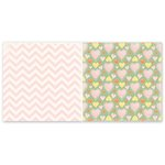 The Paper Loft - Truly Scrumptious Collection - 12 x 12 Double Sided Paper - Luscious