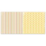 The Paper Loft - Truly Scrumptious Collection - 12 x 12 Double Sided Paper - Sugar Coated