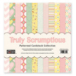 The Paper Loft - Truly Scrumptious Collection - 12 x 12 Patterned Cardstock Pack