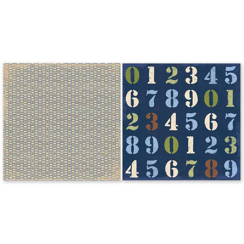 The Paper Loft - In the Zone Collection - 12 x 12 Double Sided Paper - Second Gear