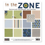 The Paper Loft - In the Zone Collection - 12 x 12 Patterned Cardstock Pack