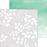 Pinkfresh Studio - Happy Things Collection - 12 x 12 Double Sided Paper - Botanicals