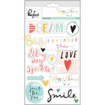 Pinkfresh Studio - Happy Things Collection - Studio Puffs Stickers