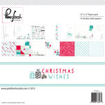 Pinkfresh Studio - Christmas Wishes Collection - 12 x 12 Paper Pack