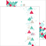 Pinkfresh Studio - Christmas Wishes Collection - 12 x 12 Double Sided Paper - Falalalala