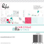 Pinkfresh Studio - Christmas Wishes Collection - 6 x 6 Paper Pack