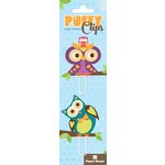 Paper House Productions - Puffy Clips Page Markers - Owls