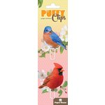Paper House Productions - Puffy Clips Page Markers - Backyard Birds