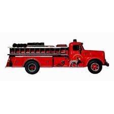 Paper House Productions - Firefighter Collection - Mini Die Cut Piece - Fire Engine