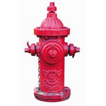 Paper House Productions - Firefighter Collection - Mini Die Cut Piece - Fire Hydrant