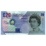 Paper House Productions - London Collection - Mini Die Cut Piece - Pound Note