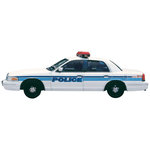 Paper House Productions - Police Collection - Mini Die Cut Piece - Police Car