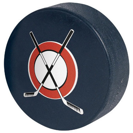 Paper House Productions - Hockey Collection - Mini Die Cut Piece - Hockey Puck