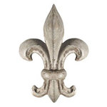 Paper House Productions - Paris Collection - Mini Die Cut Piece - Fleur de Lis