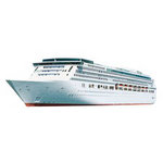 Paper House Productions - Travel Collection - Mini Die Cut Piece - Cruise Ship