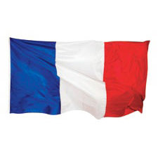 Paper House Productions - Paris Collection - Mini Die Cut Piece - French Flag
