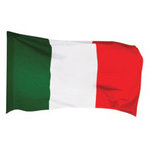 Paper House Productions - Rome Collection - Mini Die Cut Piece - Italian Flag
