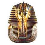 Paper House Productions - Egypt Collection - Mini Die Cut Piece - King Tuts Mask