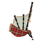 Paper House Productions - Scotland Collection - Mini Die Cut Piece - Bagpipes