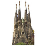 Paper House Productions - Spain Collection - Mini Die Cut Piece - Gaudi Church