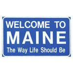 Paper House Productions - Maine Collection - Mini Die Cut Piece - Maine Sign