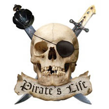 Paper House Productions - Pirate Collection - Mini Die Cut Piece - Pirate Life