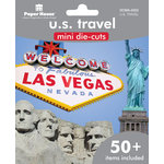 Paper House Productions - Mini Die Cut Pack - US Travel