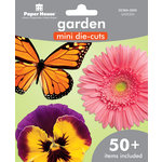 Paper House Productions - Mini Die Cut Pack - Garden