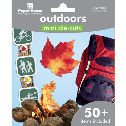 Paper House Productions - Mini Die Cut Pack - Outdoor