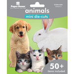 Paper House Productions - Mini Die Cut Pack - Animals