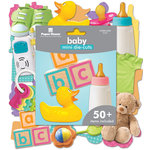Paper House Productions - Mini Die Cut Pack - Baby