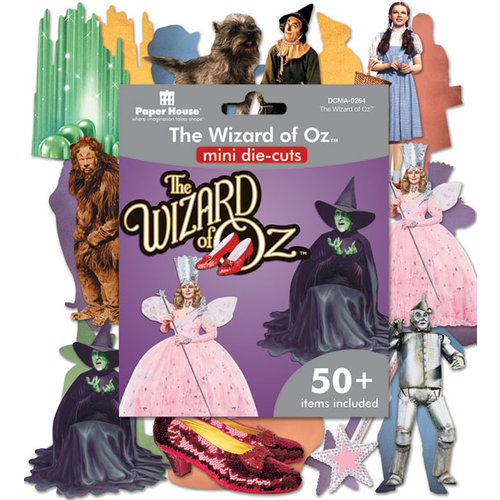 Paper House Productions - Mini Die Cut Pack - The Wizard of Oz