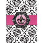 Paper House Productions - Lined Journal - Fleur De Lis
