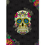 Paper House Productions - Lined Journal - Sugar Skull