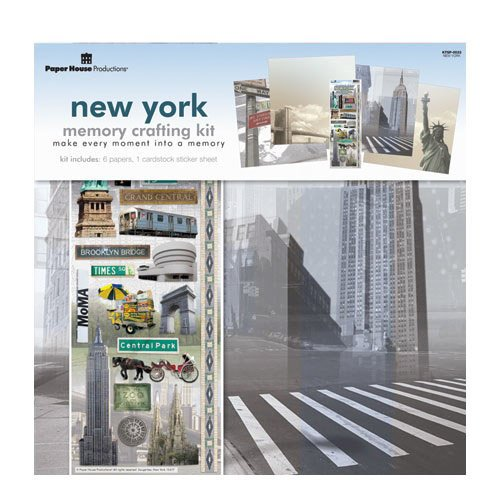 Paper House Productions - New York City Collection - 12 x 12 Memory Crafting Kit
