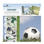 Paper House Productions - Soccer Collection - 12 x 12 Memory Crafting Kit