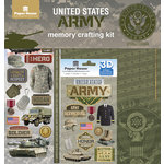 Paper House Productions - 12 x 12 Memory Crafting Kit - United States Army
